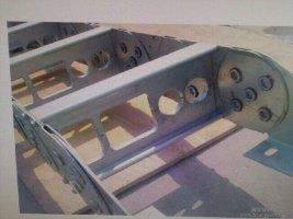 钢制拖链二型方孔