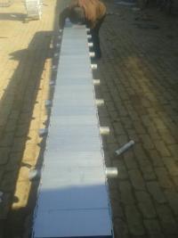 钢制拖链带辊轮