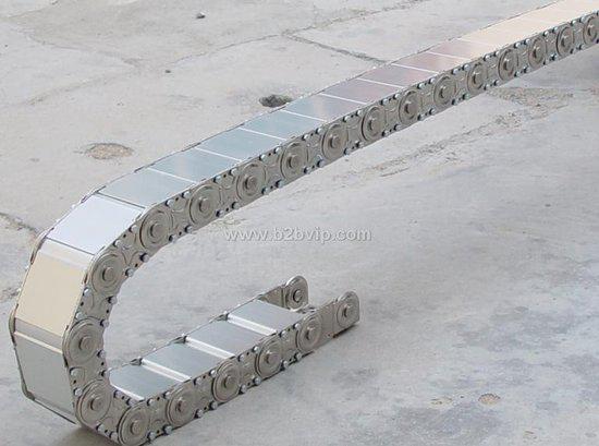 全封闭型钢制拖链